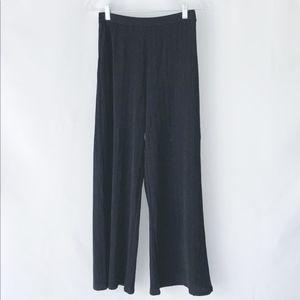 Sienna Sky Wide Leg Black Pants